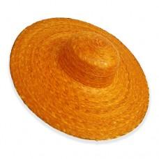 Sombrero Ala Grande Naranja